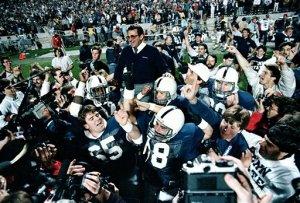 Penn State's Joe Paterno