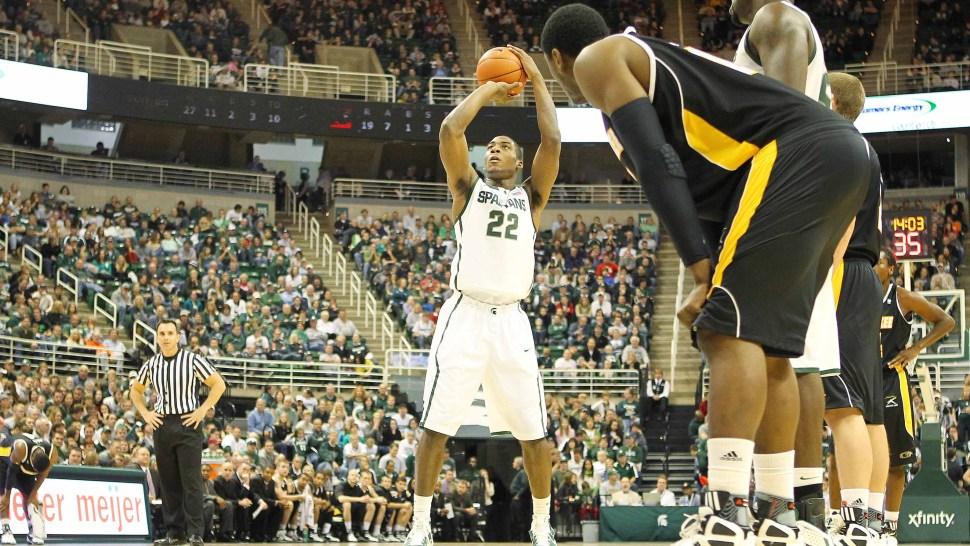 Michigan State's Branden Dawson