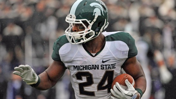 Michigan State's Le'Veon Bell
