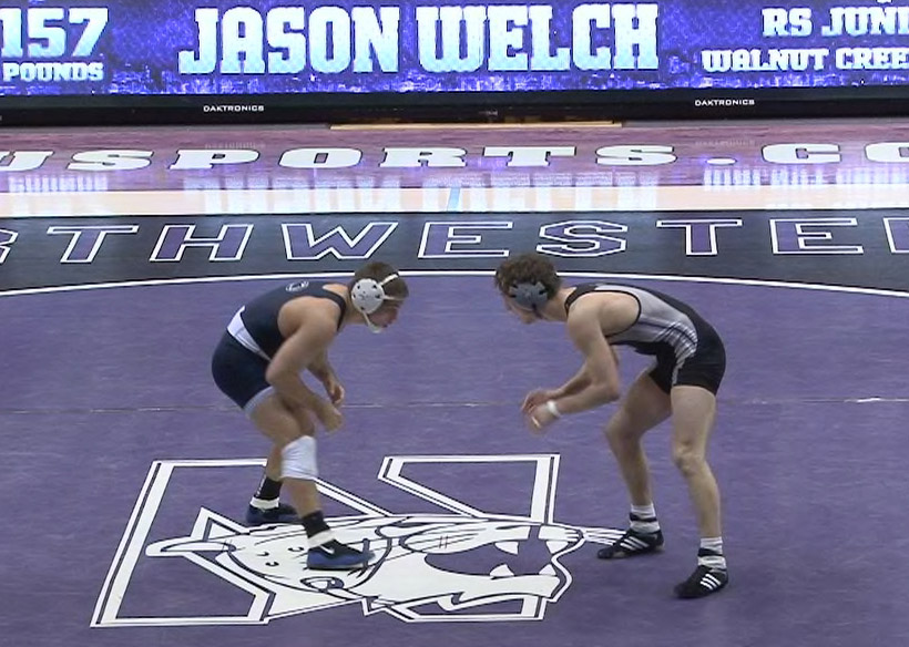 Penn State - Northwestern Wrestling 2012