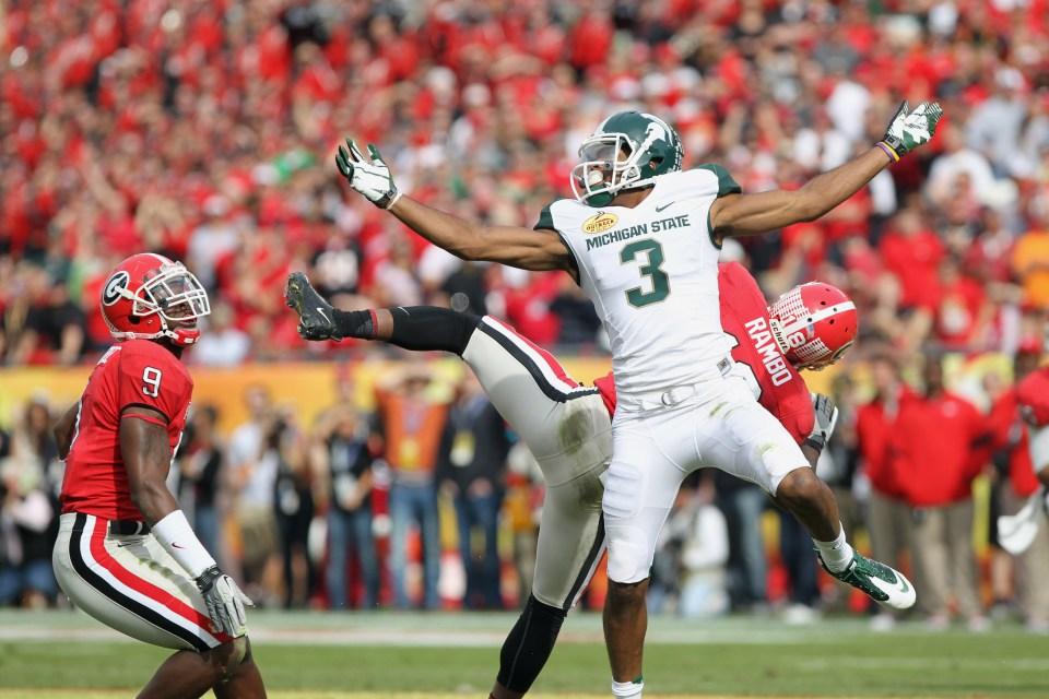 Michigan State's B.J. Cunningham