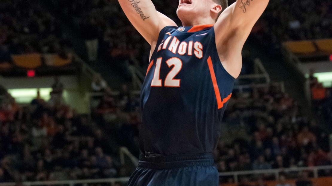 Illinois' Meyers Leonard