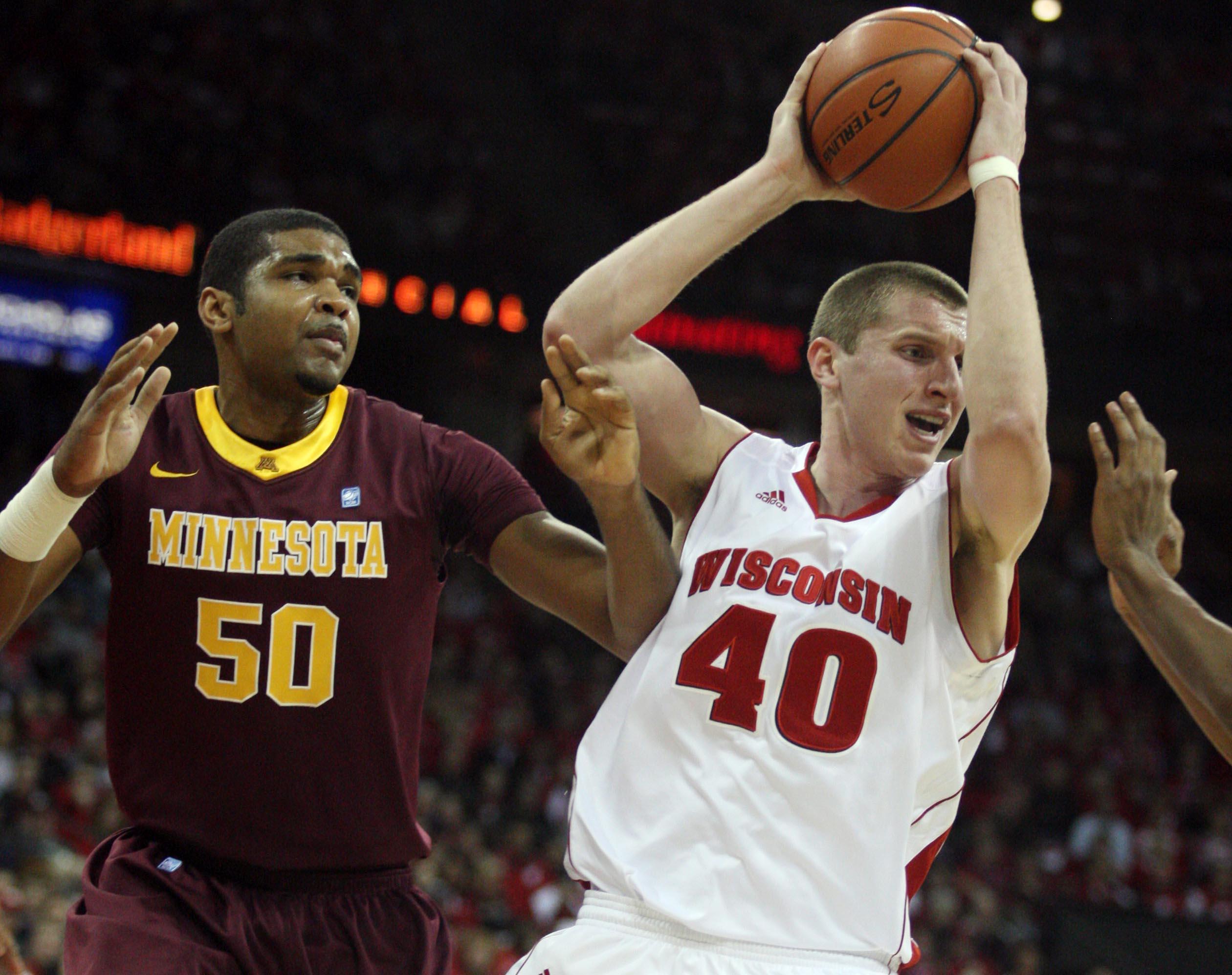 Wisconsin's Jared Berggren