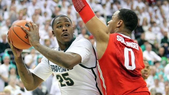 Michigan State's Derrick Nix