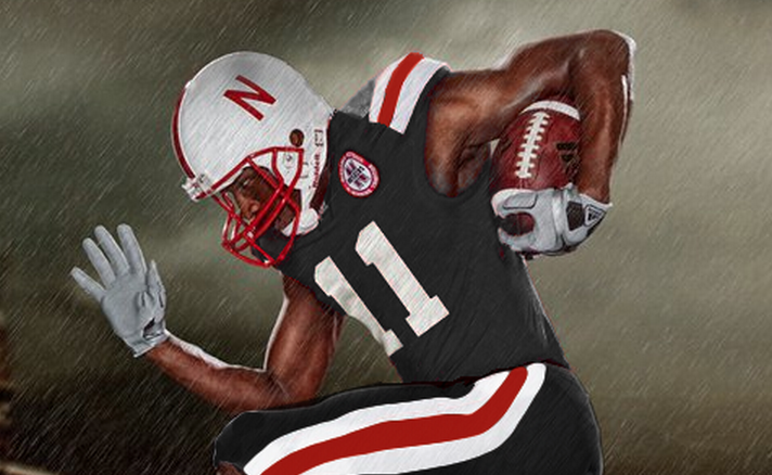 low priced 7fab2 0eb4c Nebraska to wear alternate uniform once in 2012 « Big Ten ...