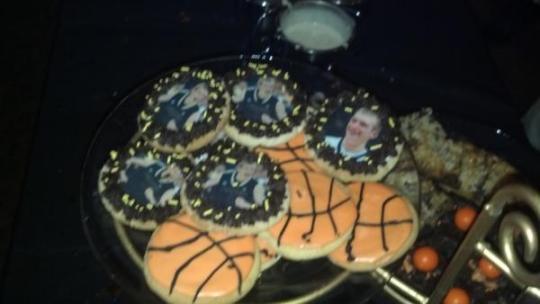 Robbie Hummel Cookies