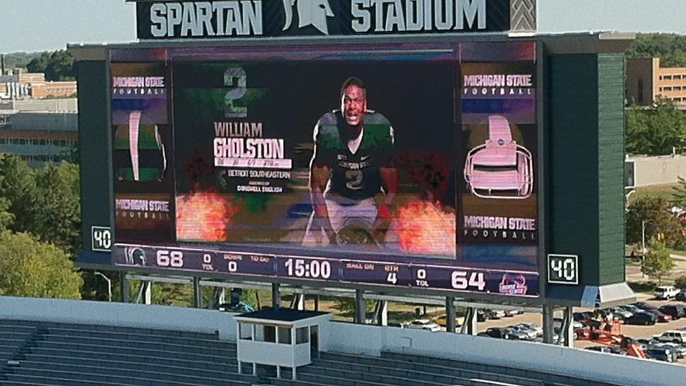 Spartan Stadium Scoreboard