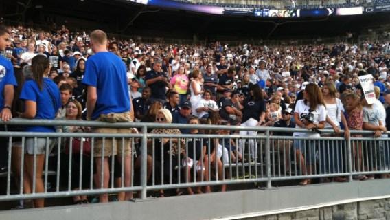Penn State Crowd