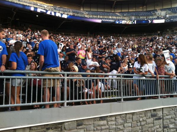 Penn State Crowd