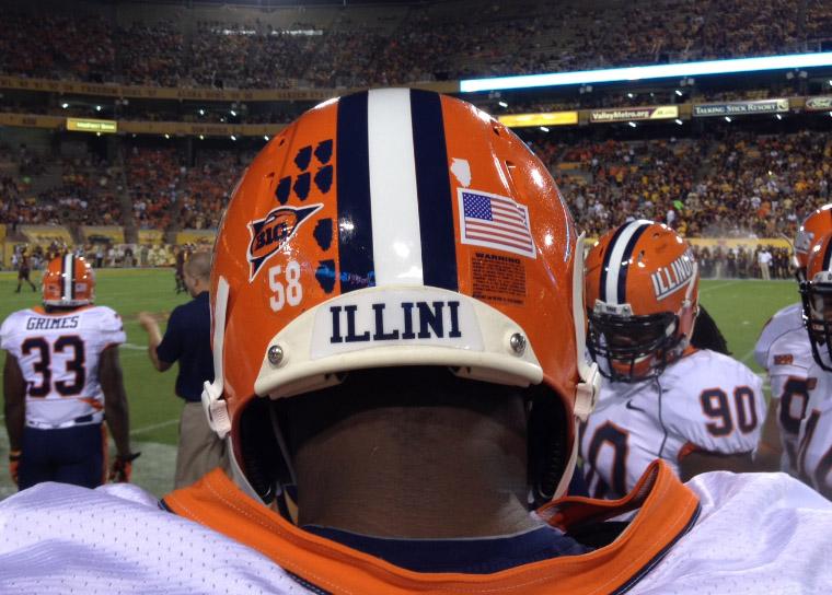 Illinois Helmet Stickers