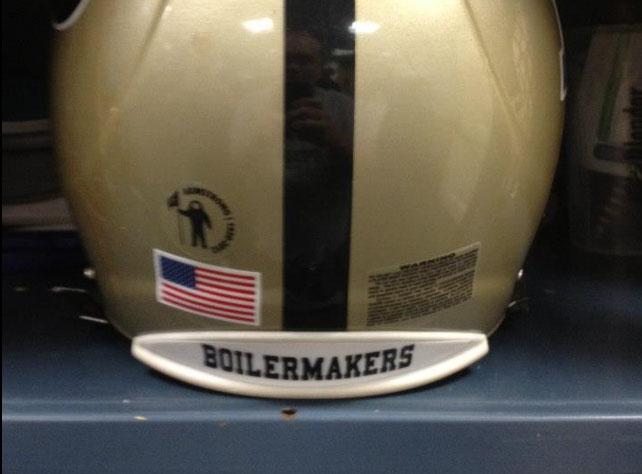 Purdue Helmet