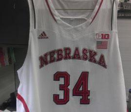 Nebraska Basketball Jersey