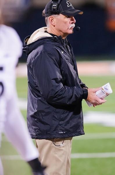 Nov 17, 2012; Champaign, IL, USA; Purdue Boilermakers head coach Danny Hope during the third quarter against the Illinois Fighting Illini at Memorial Stadium. Mandatory Credit: Bradley Leeb-US PRESSWIRE
