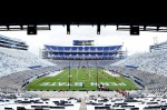 November 24, 2012;University Park, PA, USA; A general view of the stadium prior to the game between the Wisconsin Badgers and the Penn State Nittany Lions at Beaver Stadium. Mandatory Credit: Evan Habeeb-US PRESSWIRE