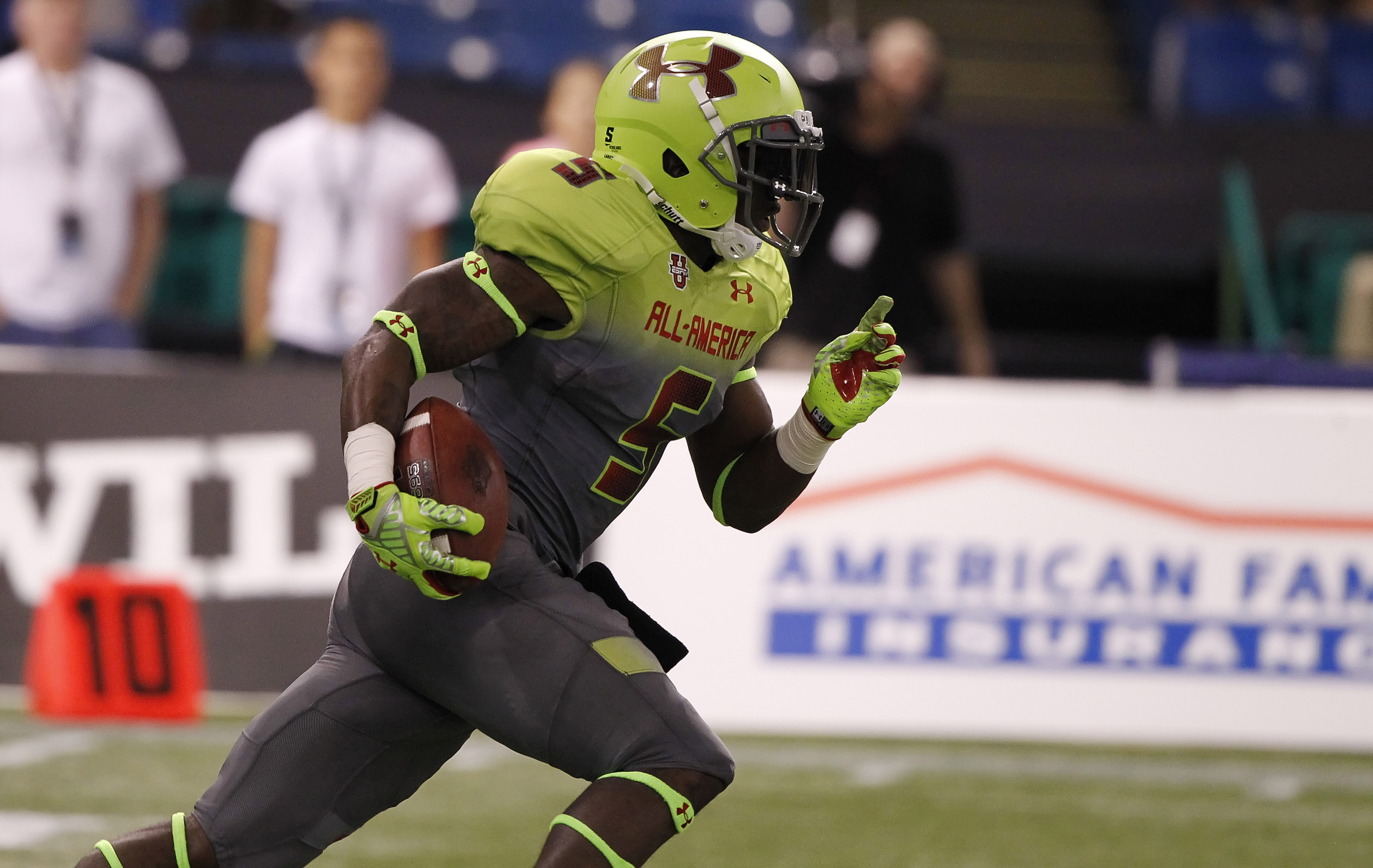 pretty nice 5e448 c870a Video: Jabrill Peppers wows in 100-meter dash « Big Ten Network