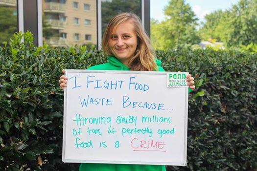 Mia Zavalij Food Recovery Network