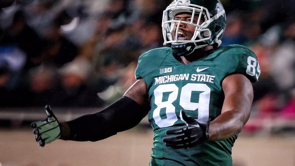 new products d7d29 ac492 Video: Michigan State's Shilique Calhoun has huge tackle vs ...