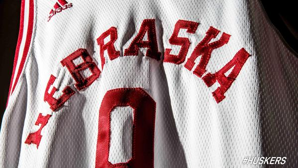 best sneakers 9ba3f 6c399 Photo: Nebraska basketball team to wear throwback uniforms ...
