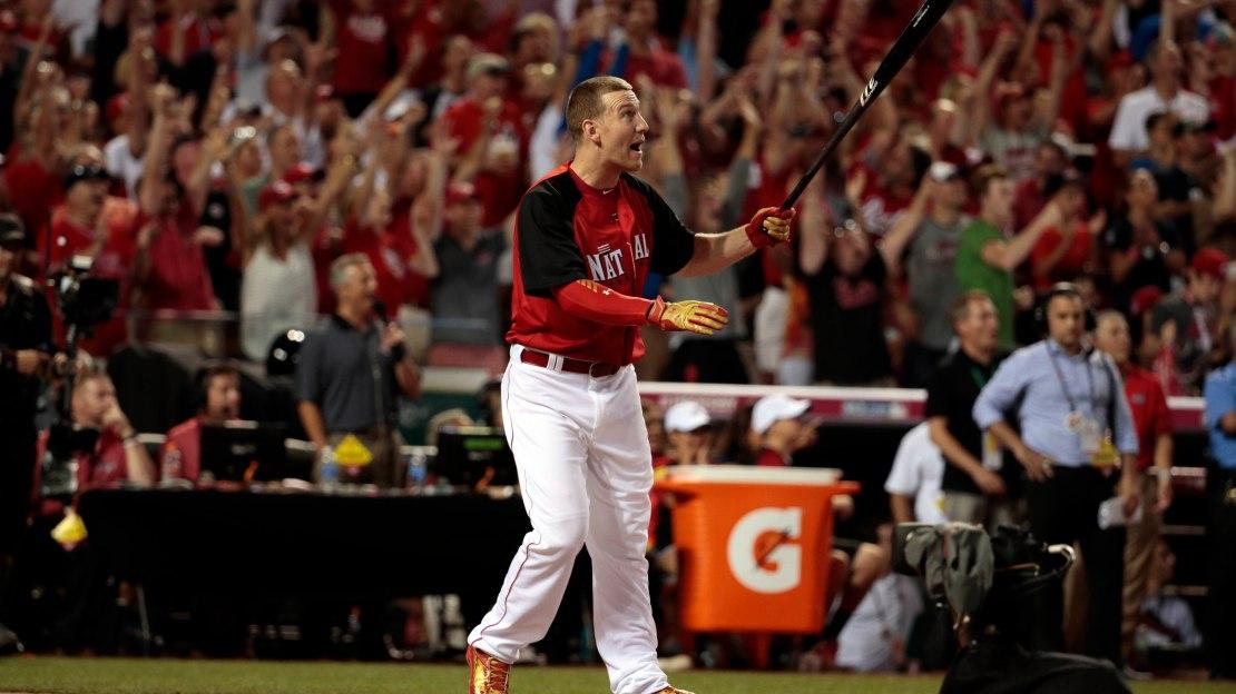 Former Rutgers Star Todd Frazier Wins 2015 Mlb Home Run