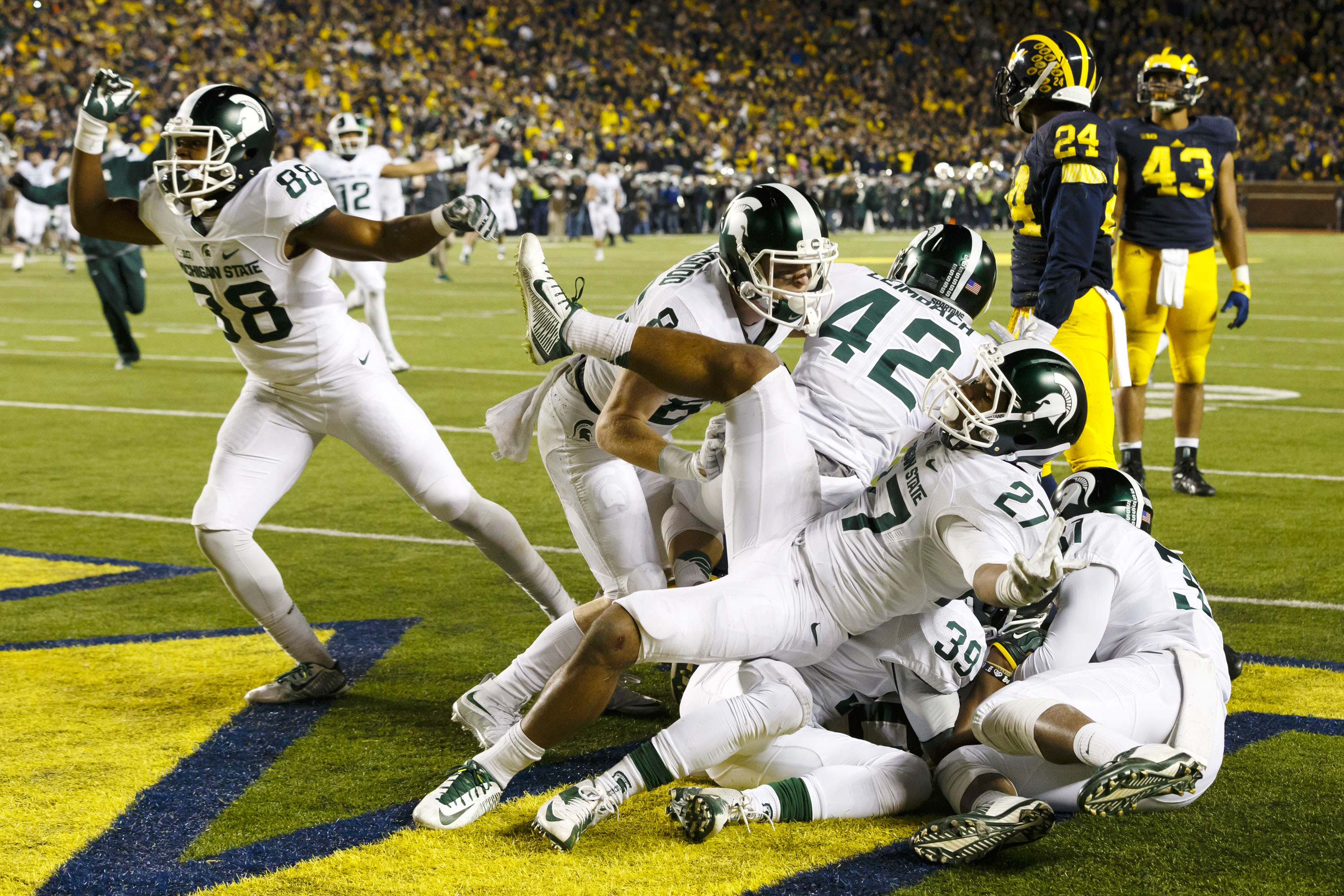 MSU's stunning win over Michigan announces return of rivalry - Big Ten  Network