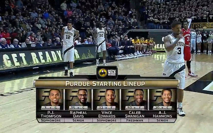 huge selection of a6e21 e5fbb Purdue busts out throwback to honor 1994-96 three-peat team ...