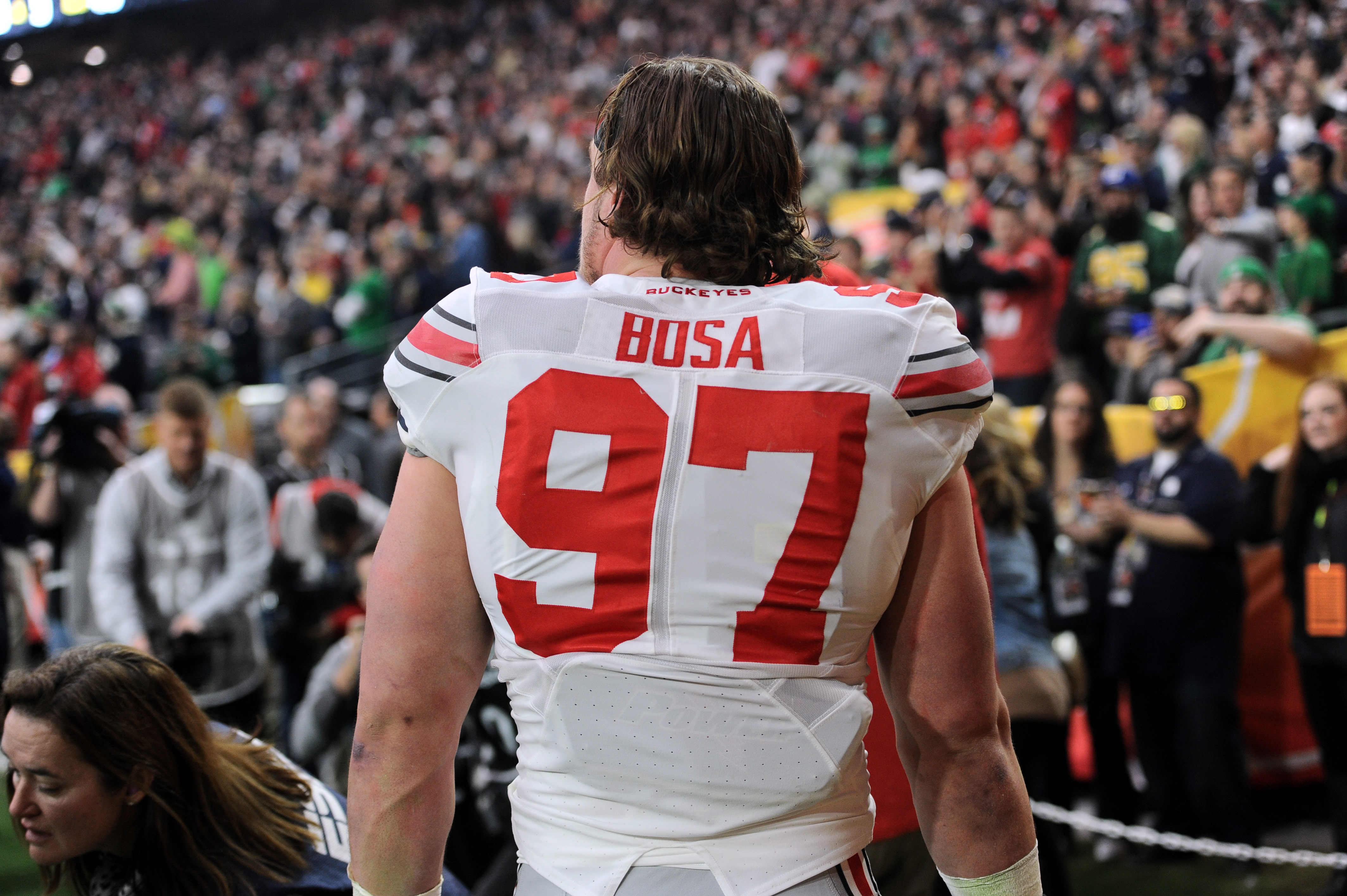 buy online 368aa 20ffc Watch Joey Bosa get ejected for targeting in final college ...