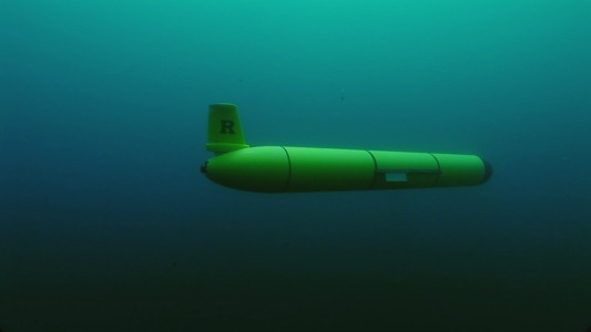A Rutgers ocean glider explores under the waves