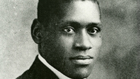 Paul Robeson's 1920 Rutgers' yearbook photograph