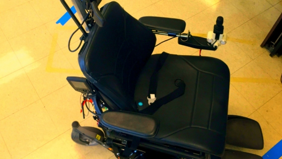 Northwestern University's autonomous wheelchair