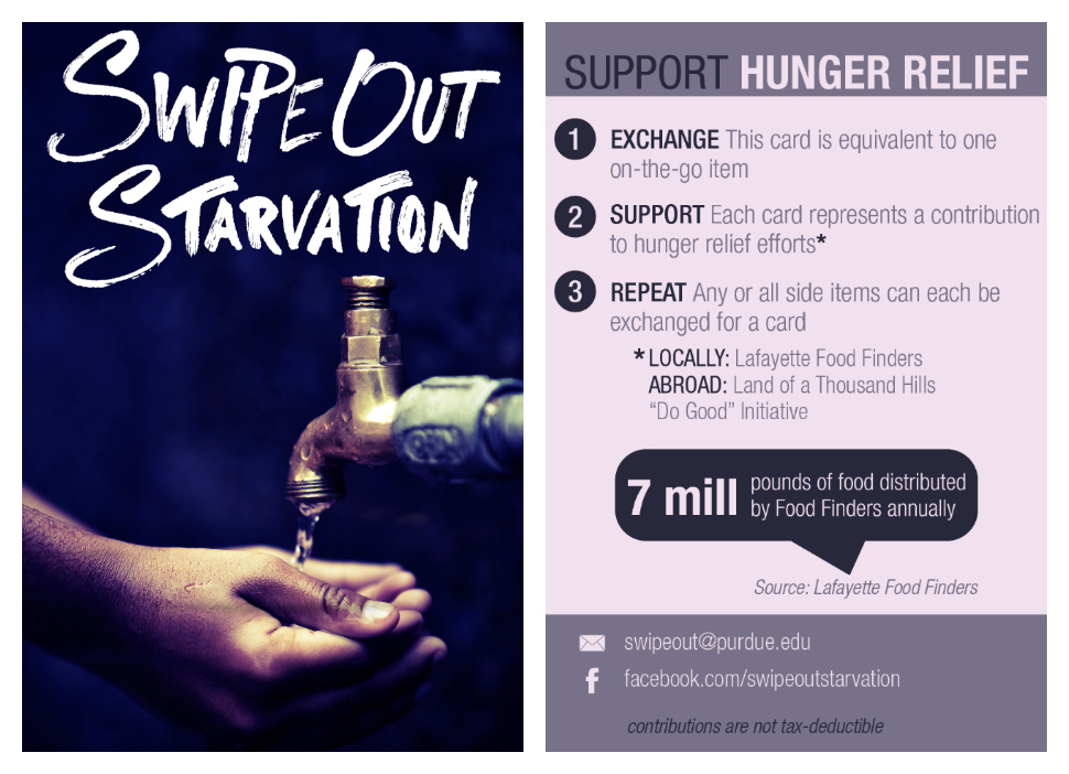 Swipe Out Starvation Card