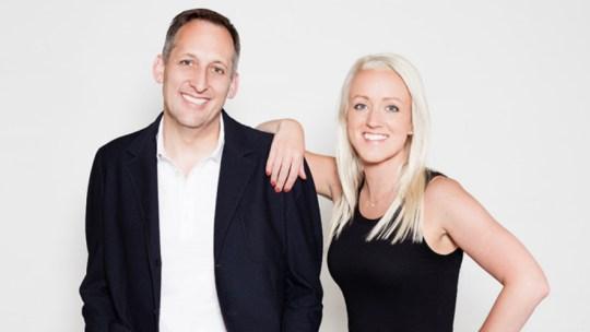 Authors of The Bestseller Code, University of Nebraska professor Matthew Jockers and Jodie Archer, PhD.