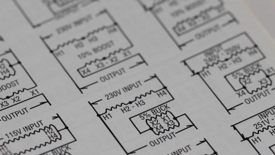 Diagram of a circuit