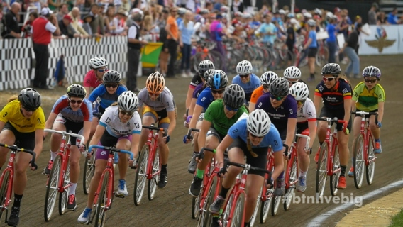 Racers at Indiana University's Little 500