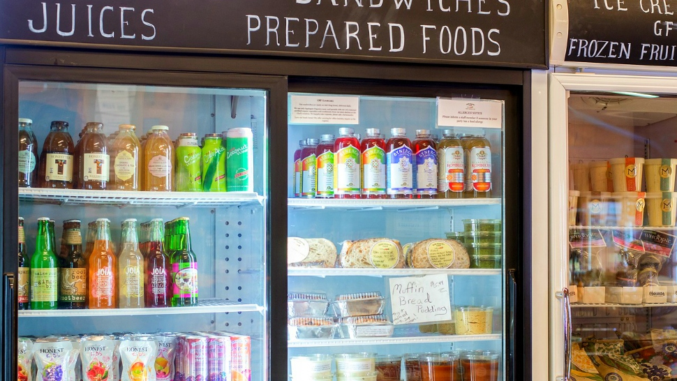 Prepared foods and grocery items