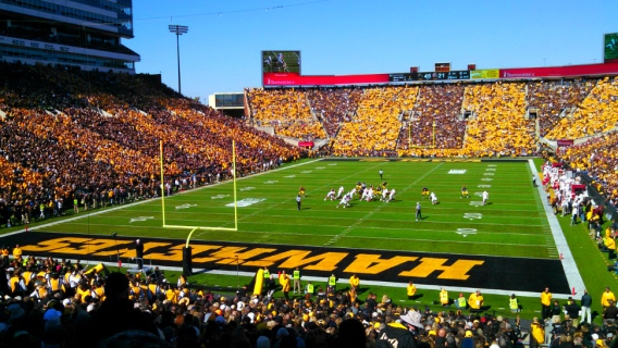 Iowa Hawkeyes at Kinnick Stadium