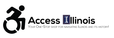 The logo for Access Ilinois, a new app from University of Illinois students