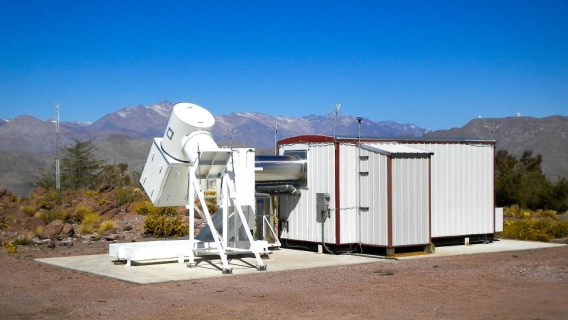 Wisconsin H-Alpha Mapper (WHAM)at the Cerro Tololo Inter-American Observatory in Chile. A spectrometer designed to measure the ionized hydrogen that permeates interstellar space, WHAM has been an astronomical workhorse, mapping a key ingredient of the Milky Way's interstellar soup of dust and gas for two decades —first atop Kitt Peak, Arizona, and for about the last decade in the Andes in Chile.