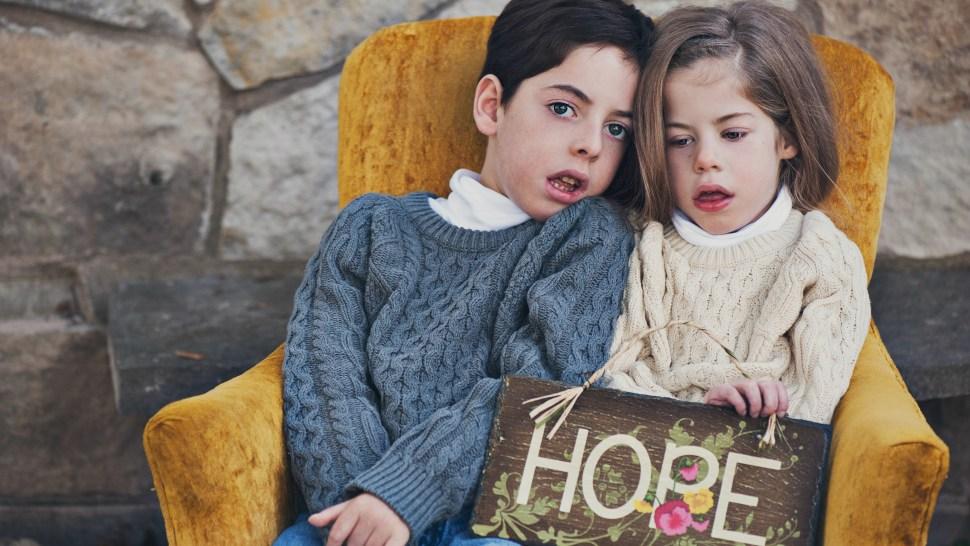 Noah VanHoutan, age 8, and Laine VanHoutan, age 6, both suffer from CLN2 or Batten Disease