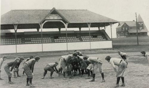 Penn State's original football stadium Old Beaver Field