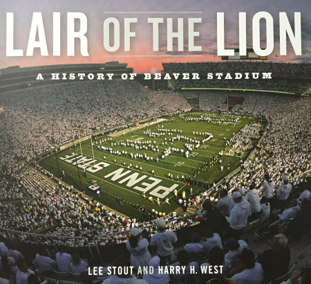 Cover of Penn State historians' new book Lair of the Lion