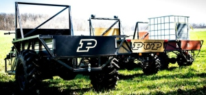 Purdue University's all-purpose vehicle, the PUP.