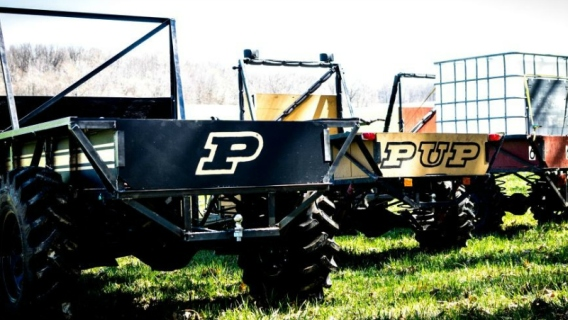 Purdue University's all-purpose vehicle, the PUP.