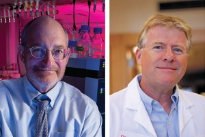 Rutgers University professors and researchers Peter Lobel and David Sleat