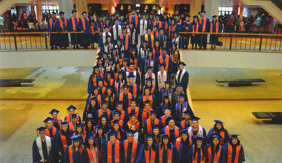 The Department of Asian American Studies, the Department of African American Studies, the Department of Latino/Latina Studies, and the American Indian Studies Program hold a ceremony to honor graduating students and their families.