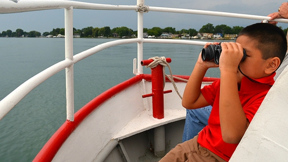 Summer Discovery Cruise, Fish Tales, Lake Erie and Detroit River