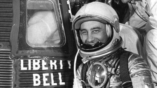 Purdue University grad and Mercury 7 astronaut Gus Grissom