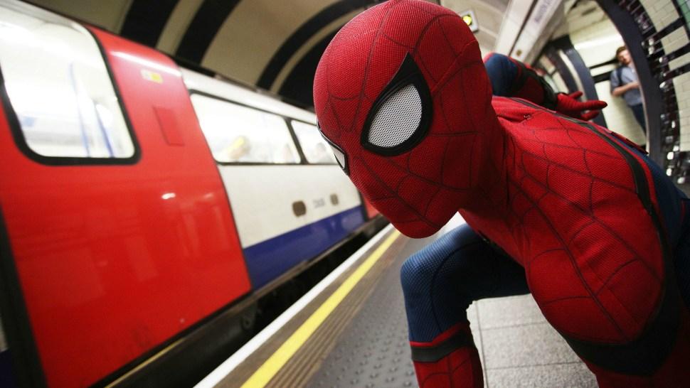 Chris Silcox as Spider-Man