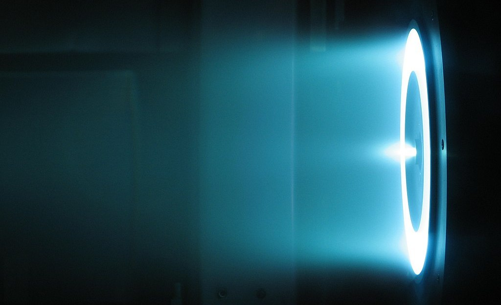 A Hall-effect thruster