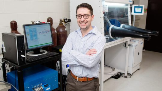 Illinois mechanical science and engineering professor Kyle Smith and his co-authors have shown that a new batterylike water desalination device could help provide fresh water to a variety of regions efficiently and economically.