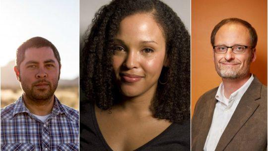 Big Ten 2017 MacArthur Fellows Jason De Leon, Jesmyn Ward and Derek Peterson